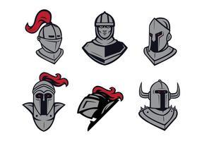 Vetor livre da mascote dos cavaleiros