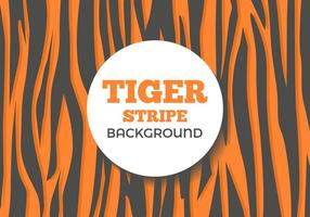 Grátis Stripe Tiger Vector Background