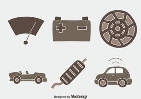 Carro Elemento Vectors