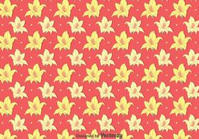 Teste padrão amarelo do rododendro vetor