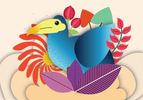 Arte vetorial dodo pássaro vetor