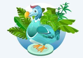 Dodo Bird Ilustração Vetor