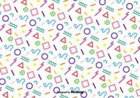 Vector Funky padrão geométrico colorido