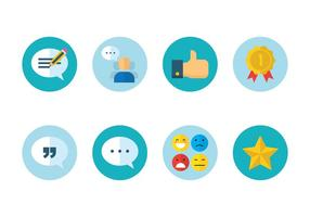 Ícone de revisão do cliente