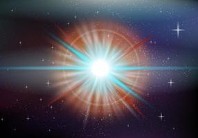 Espaço Supernova vetor