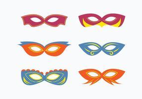 Máscara Masquerade Vector Collection