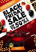 liquidação de sexta-feira negra, banner até 50 off