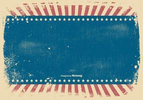 Fundo patriótico do estilo do Grunge vetor