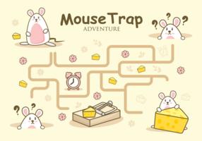 Mouse Trap Aventura Ilustração vetor