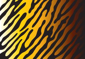 Teste padrão do tigre do vetor