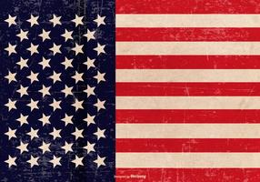Fundo patriótico do Grunge vetor