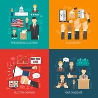 política e composição eleitoral definida vetor
