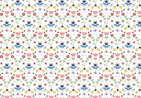 Ilustração do padrão floral
