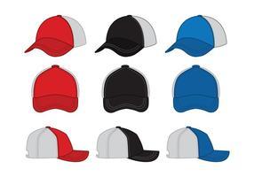 Chapéu do camionista ícone do vetor