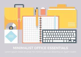 Elementos livres do vetor do escritório
