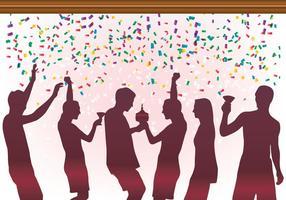 Festa da celebração do aniversário vetor