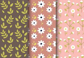 Primavera livre padrão floral vetor