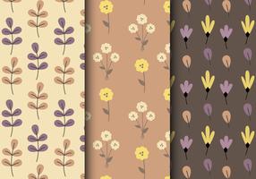 Teste padrão floral livre do outono vetor