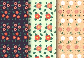 Padrão floral de primavera grátis vetor