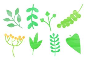 Elementos naturais da aguarela livre