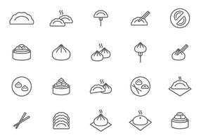 Vetores Grátis Dumplings