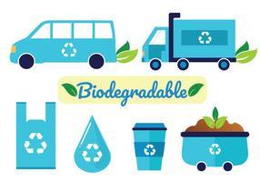 Pacote de vetores biodegradáveis