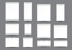 Modelo de Calendário do Desktop