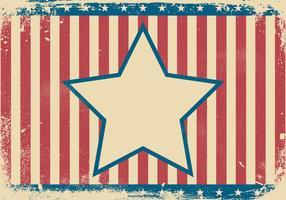 Ilustração patriótica do fundo do grunge vetor