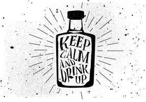 Fundo livre de bebidas desenhadas à mão