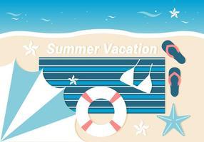 Fundo de férias grátis do verão vetor