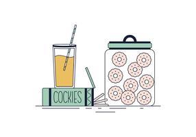 Vetor de cookies grátis