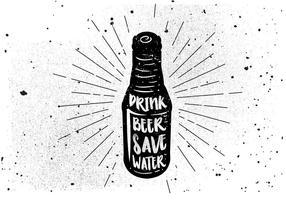 Fundo livre de bebidas desenhadas à mão vetor