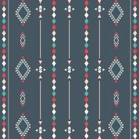 padrão tribal asteca com formas geométricas