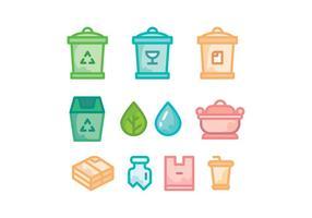 Vector de cores biodegradável