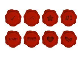 Pacote de vetores Free Wax Seal