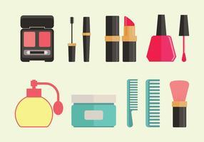 Ícones de vetor de clínica de beleza