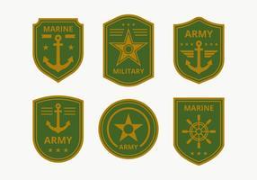 Coleção de emblema do Corpo de Marines
