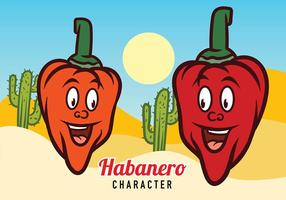 Vetor Mascot de Habanero