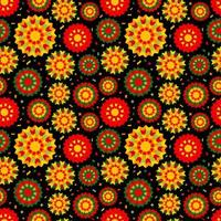 fundo abstrato com ornamentos étnicos