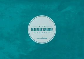 Fundo azul do grunge vetor
