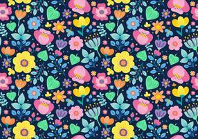 Padrão floral Ditsy sem costura
