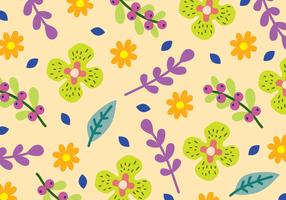 Padrão Floral Bonito vetor