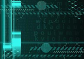 Resumo Matrix Background vetor