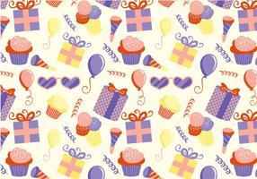 Vetores de padrões de festa para crianças grátis