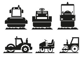 Vetor do ícone Steamroller