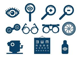 Conjunto de vetores de teste de olho