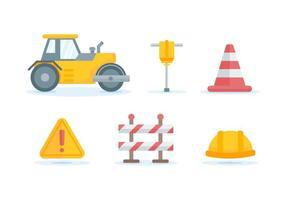 Vetores de construção de estradas excepcionais gratuitos