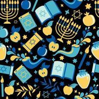 padrão sem emenda de yom kippur