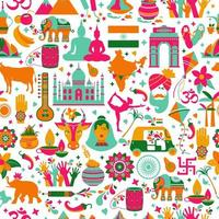 conjunto de arquitetura indiana e tradições asiáticas