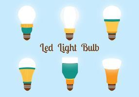 Pacote de vetores com luzes LED
